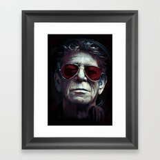 Lou Reed Framed Art Print
