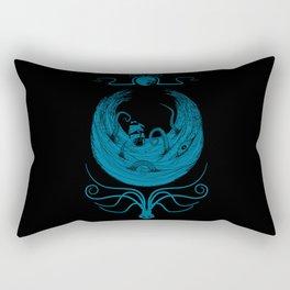 Kraken's Whirlpool Rectangular Pillow