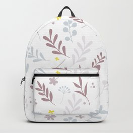 The Floral Pattern 1 - Pink Backpack