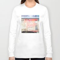 record Long Sleeve T-shirts featuring Record shop by RMK Creative