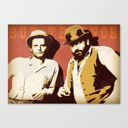 Bud Spencer e Terence Hill Canvas Print