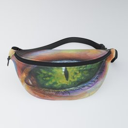 Reptile eye Fanny Pack