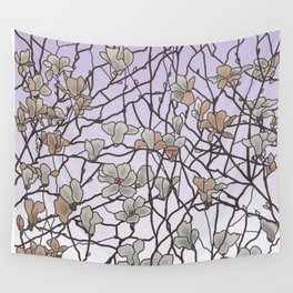 pattern of branches in pastel colors 2 (https://society6.com/totalflora/collection ) Wall Tapestry