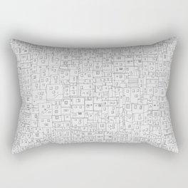 Favela rising Rectangular Pillow