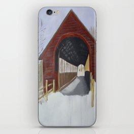 Covered bridge iPhone Skin
