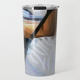 Downhill Run - Stunt Scooter Rider Travel Mug