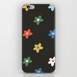 Flower Power -  Rainbow iPhone Skin