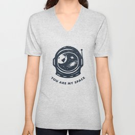You Are My Space Unisex V-Neck