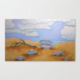 Pearl Oyster Beach Canvas Print