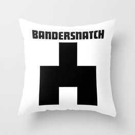 Black Mirror Bandersnatch Throw Pillow