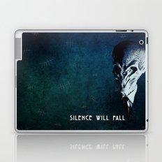 Doctor Who: The Silence Laptop & iPad Skin