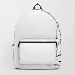 Moon Astronaut Backpack