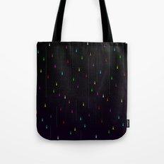 Electric Rain Tote Bag