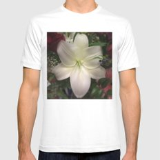 Lily Mens Fitted Tee White MEDIUM