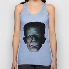 Boris Karloff as Frankenstein's Monster (The Creature) Unisex Tank Top