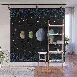 Moons of Jupiter Wall Mural
