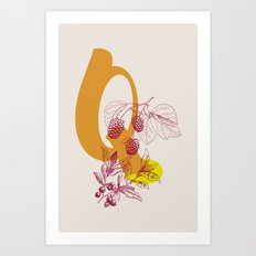 Q Art Print