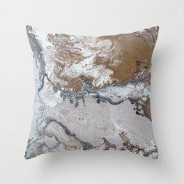 Bronzed Throw Pillow