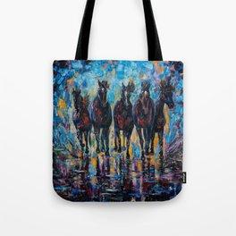 Roaming Free by OLenaArt/ Lena Owens Tote Bag