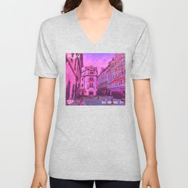Aesthetic Japanese Anime Dream. Vaporwave Depression Meme product Unisex V-Neck