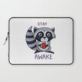 stay awake Laptop Sleeve