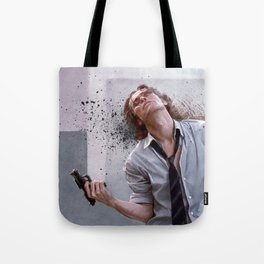 Detective Smecker From The Boondock Saints - There Was a Fire Fight Tote Bag