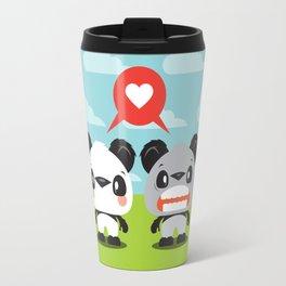 Panda Love Travel Mug