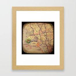 All Mine San Diego Framed Art Print