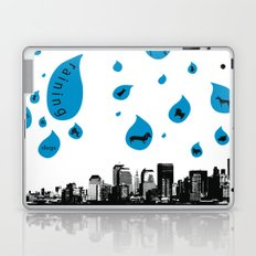 Raining Cats & Dogs Laptop & iPad Skin