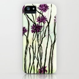 Invasive Knapweed iPhone Case