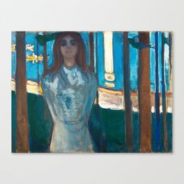 The Voice, Summer Night by Edvard Munch Canvas Print