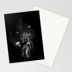 Deep Sea Space Diver Stationery Cards