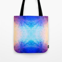 mirror Tote Bags featuring Mirror by Vargamari