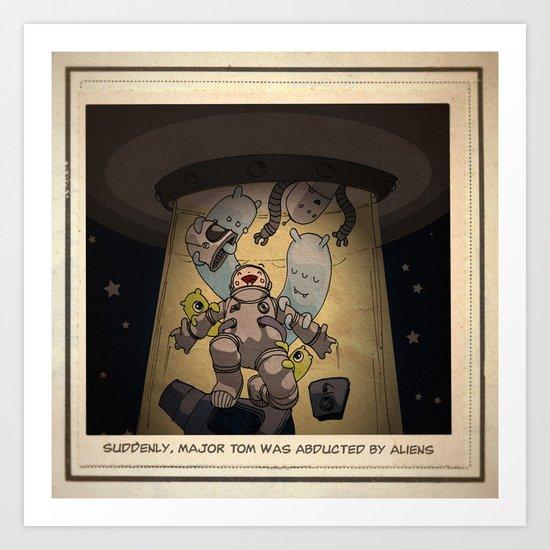 Major Tom 01 Art Print