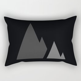 The Mountains Rectangular Pillow