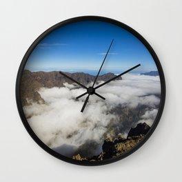 La Palma landscape Wall Clock