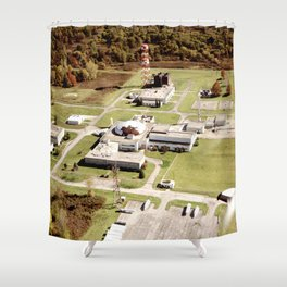 Abandoned Reactor Facility Shower Curtain