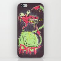 rat iPhone & iPod Skins featuring Rat by GustavoTovar