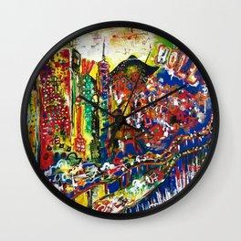 Hollywood Dreams Wall Clock