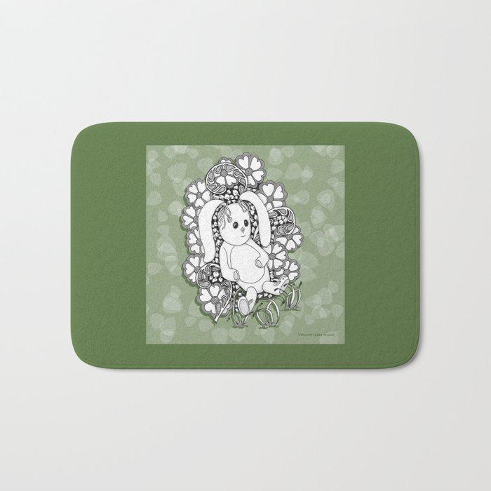 Beloved Bunny for Children Bath Mat