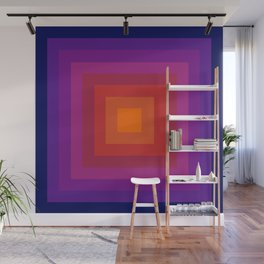 Freaky Deaky - abstract retro 70s style throwback outtasight art decor 1970s vibes Wall Mural