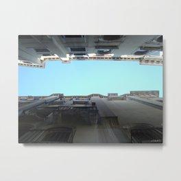 Gondola View Metal Print