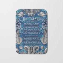 The Kraken (Blue) Bath Mat