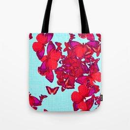 FLUTTER - pink Tote Bag