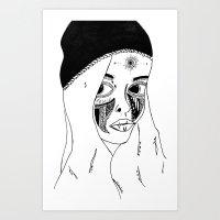 Doll 2 Art Print