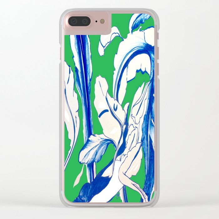 Saint Patrick's Day Succulent Clear iPhone Case