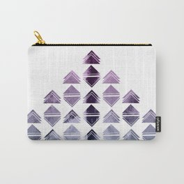 Rhombus triangles Carry-All Pouch