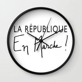 La République En Marche! Wall Clock