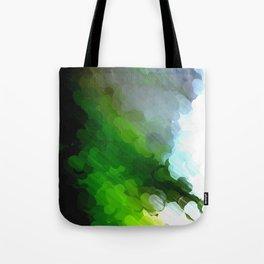 Green Dot Paint Tote Bag