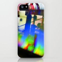 Lasers iPhone Case